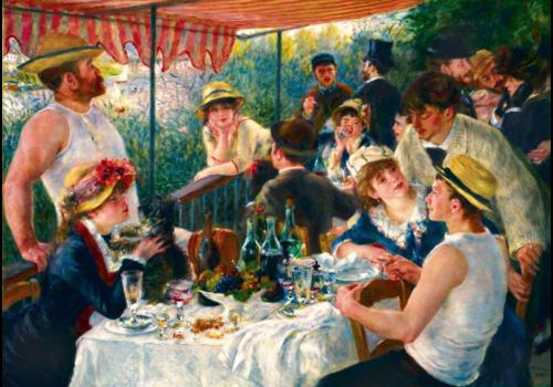 Bluebird Puzzle Renoir - Lunch van de roeiers - 1000 stukjes