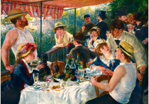 Bluebird Puzzle Renoir - Luncheon of the Boating party- 1000 pieces