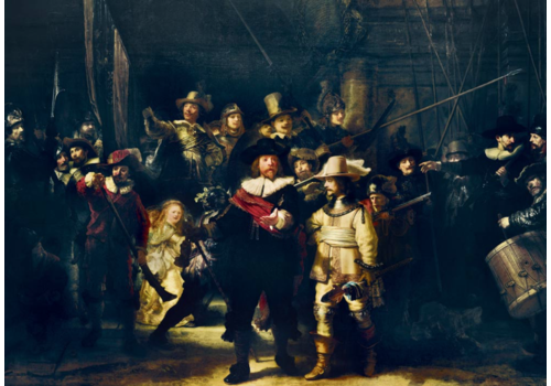 Bluebird Puzzle Rembrandt - De Nachtwacht - 1000 stukjes