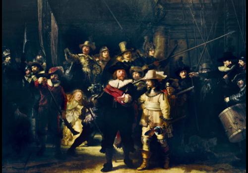 Bluebird Puzzle Rembrandt - La ronde de Nuit - 1000 pièces