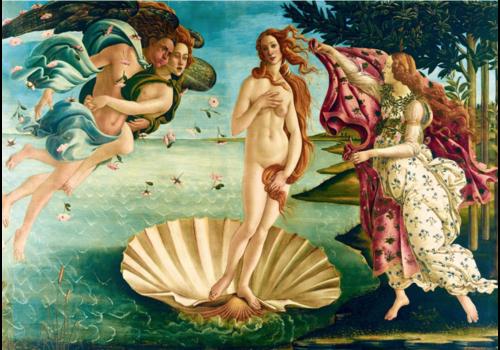 Bluebird Puzzle Botticelli - Birth of Venus - 1000 pieces