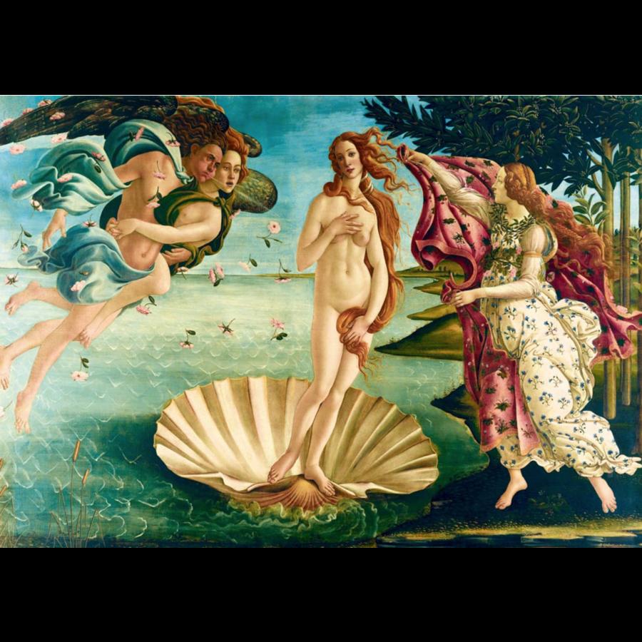 Botticelli - Naissance de Venus - 1000 pièces-1