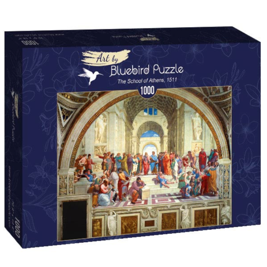 Raphael - School van Athene - 1000 stukjes-2