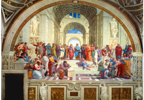 Bluebird Puzzle Raphael - School of Athens - 1000 pieces