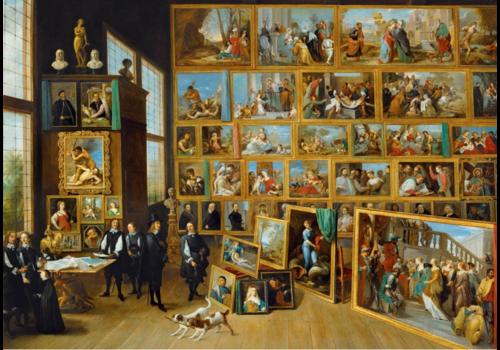 Bluebird Puzzle David Teniers II - De Kunstcollectie - 1000 stukjes