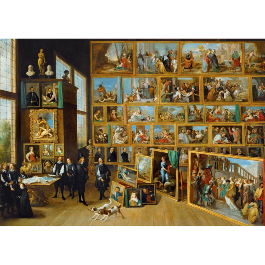 David Teniers II - The Art collection - 1000 pieces-1