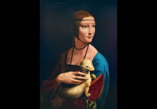 Bluebird Puzzle Leonardo Da Vinci - Lady with an Ermine - 1000 pieces