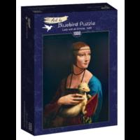 thumb-Leonardo Da Vinci - Dame met de Hermelijn - 1000 stukjes-2