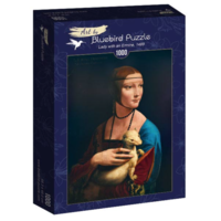 thumb-Leonardo Da Vinci - La Dame à l'hermine - 1000 pièces-2
