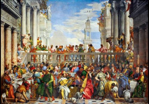 Bluebird Puzzle Paolo Veronese - The wedding at Cana - 1000 pieces