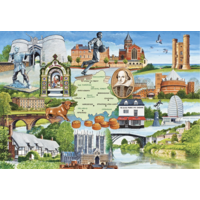 Heart of England - 1000 pieces