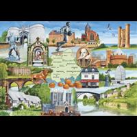 Heart of England - 1000 stukjes