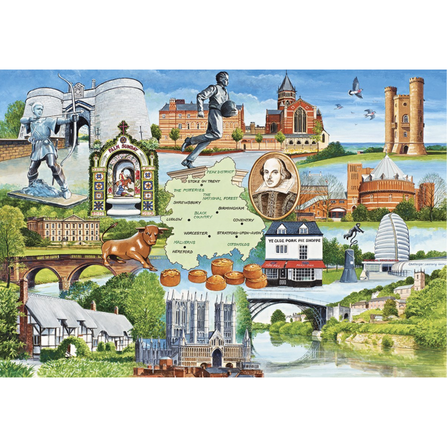 Heart of England - 1000 pieces-1