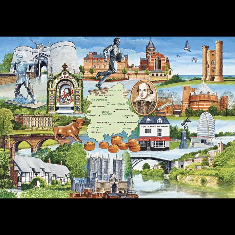 Heart of England - 1000 stukjes-1