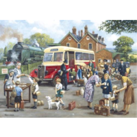 The Evacuees - 1000 piece jigsaw puzzle