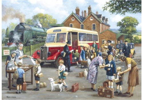 Gibsons The Evacuees - 1000 pieces
