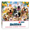 Cheatwell Buddies selfie - 500 pieces - double-sided puzzle