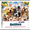 Cheatwell Vriendjes Selfie- 500 stukjes - dubbelzijdige puzzel