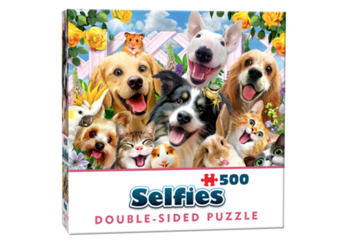 Cheatwell Amis -  selfie - 500 pièces - puzzle double face