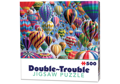 Cheatwell Luchtballonnen - 500 stukjes - dubbelzijdige puzzel