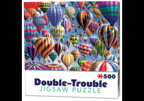 Cheatwell Montgolfières - 500 pièces - puzzle double face