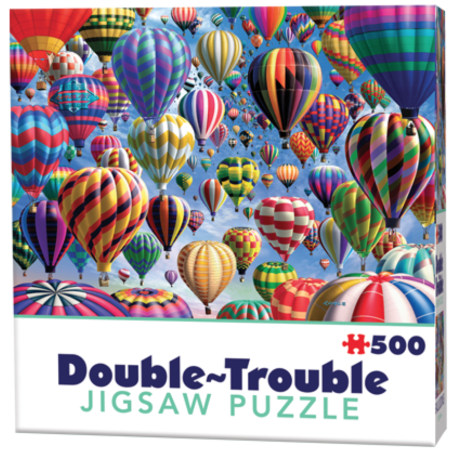 Balloons - 500 pieces - double-sided puzzle-1