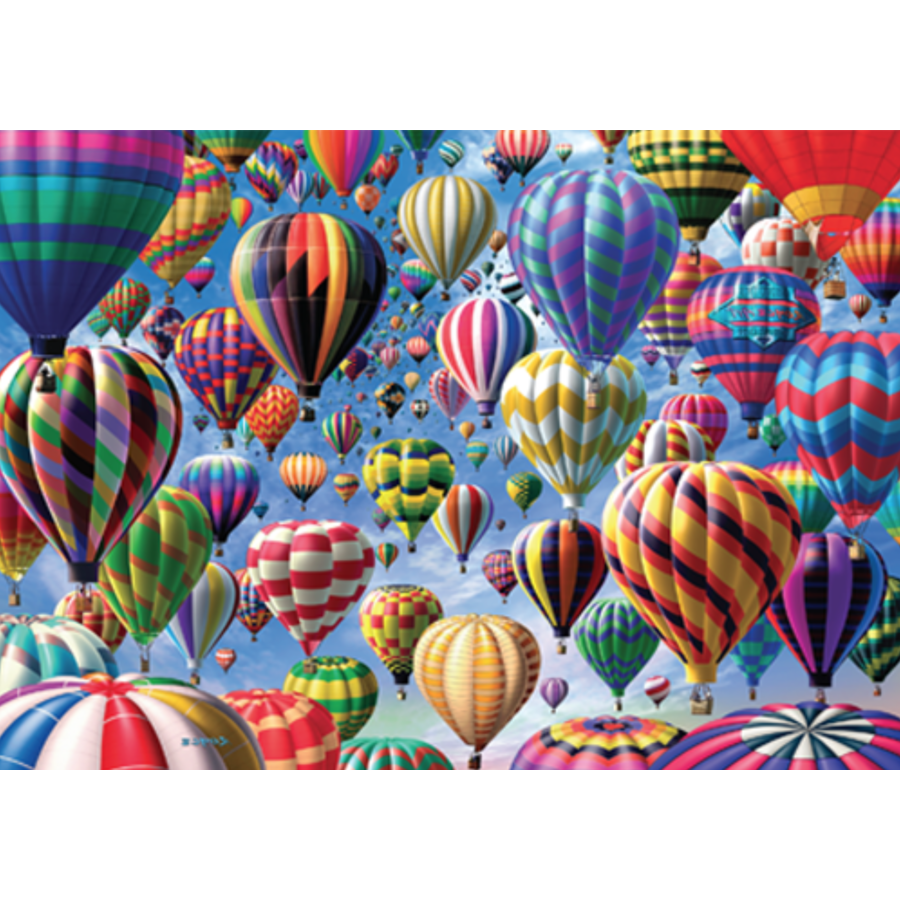 Balloons - 500 pieces - double-sided puzzle-2