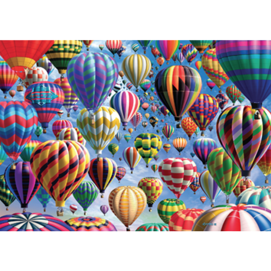 Balloons - 500 pieces - double-sided puzzle-3