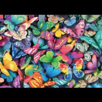 thumb-Papillons - 500 pièces - puzzle double face-2