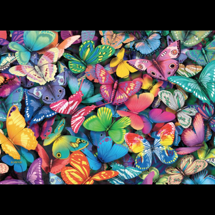 Papillons - 500 pièces - puzzle double face-2