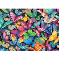 thumb-Papillons - 500 pièces - puzzle double face-3