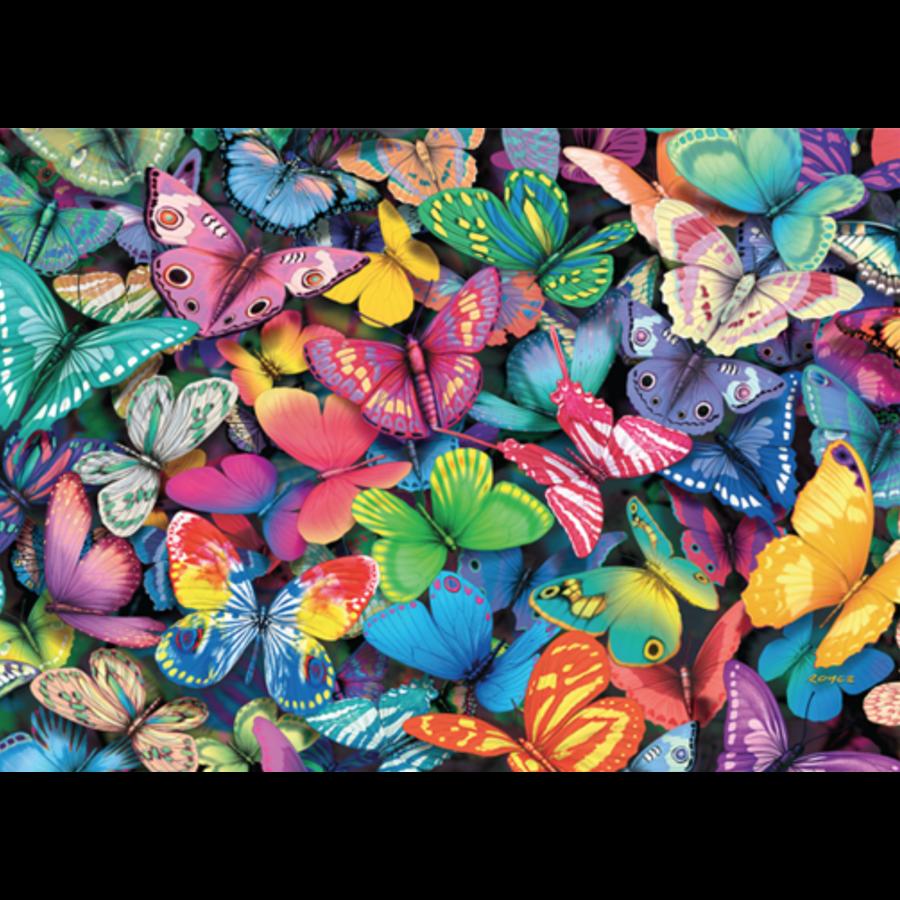 Papillons - 500 pièces - puzzle double face-3