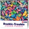 Cheatwell Papillons - 500 pièces - puzzle double face
