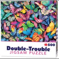 thumb-Papillons - 500 pièces - puzzle double face-1