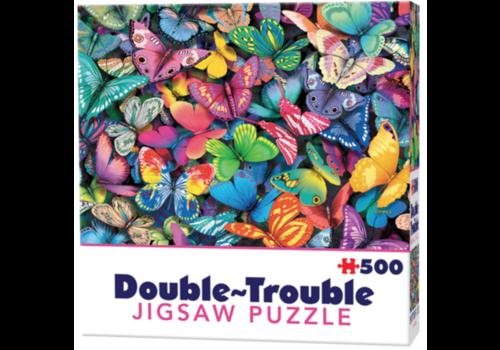 Cheatwell Vlinders - 500 stukjes - dubbelzijdige puzzel