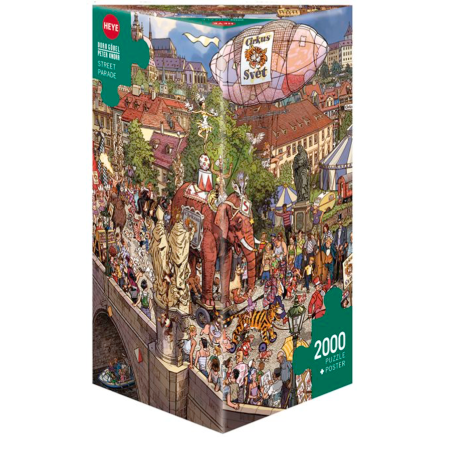 Street Parade - puzzle of 2000 pieces-1