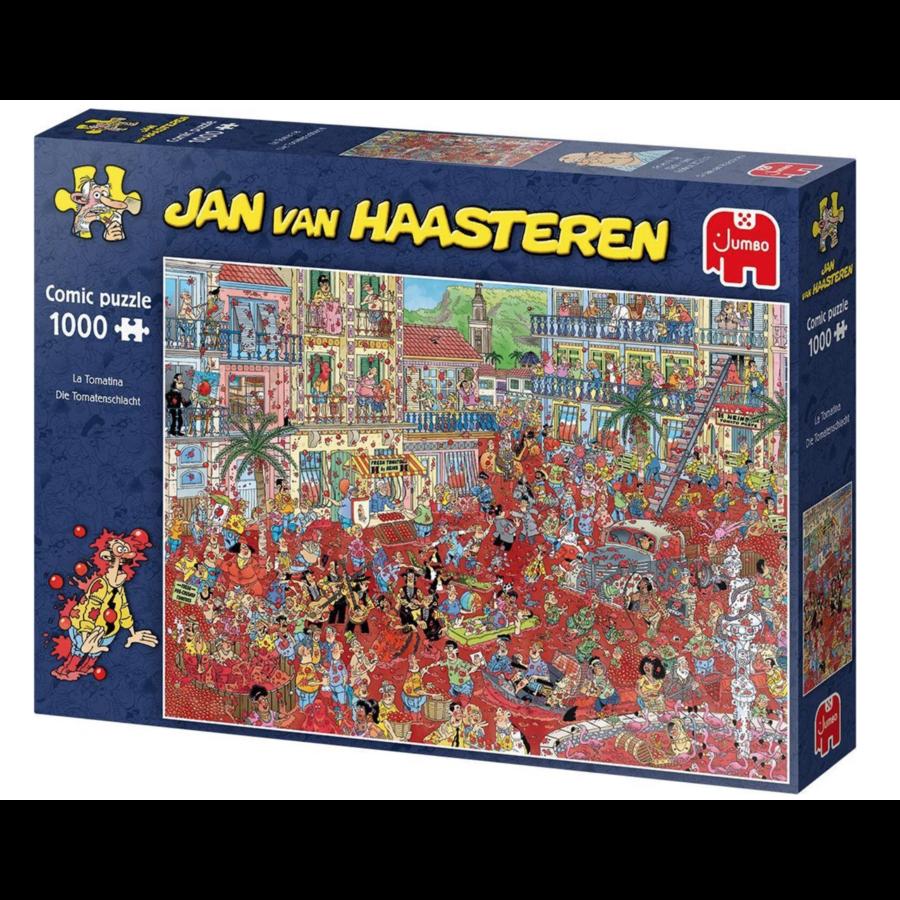 La Tomatina  - JvH - 1000 pieces-1