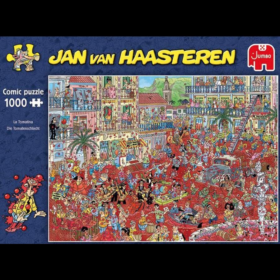 La Tomatina  - JvH - 1000 pieces-2