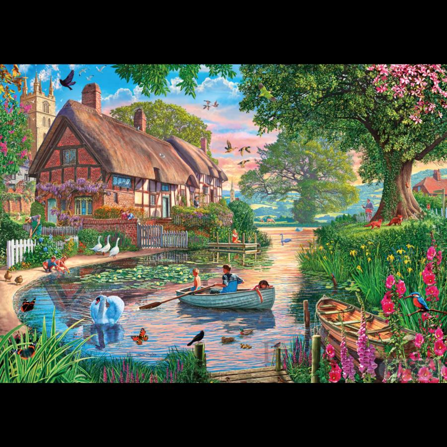 Golden Hour - puzzel van 1000 stukjes-2