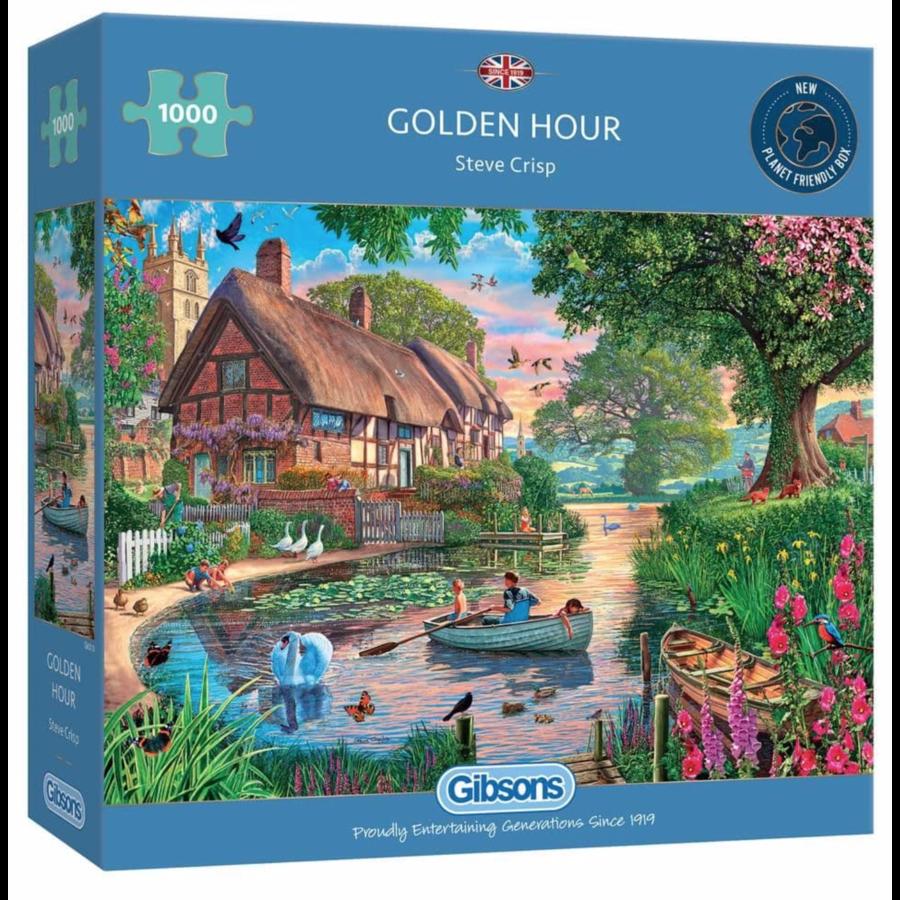 Golden Hour - puzzel van 1000 stukjes-1