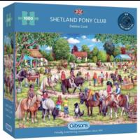 thumb-Shetland Pony Club - puzzel van 1000 stukjes-1