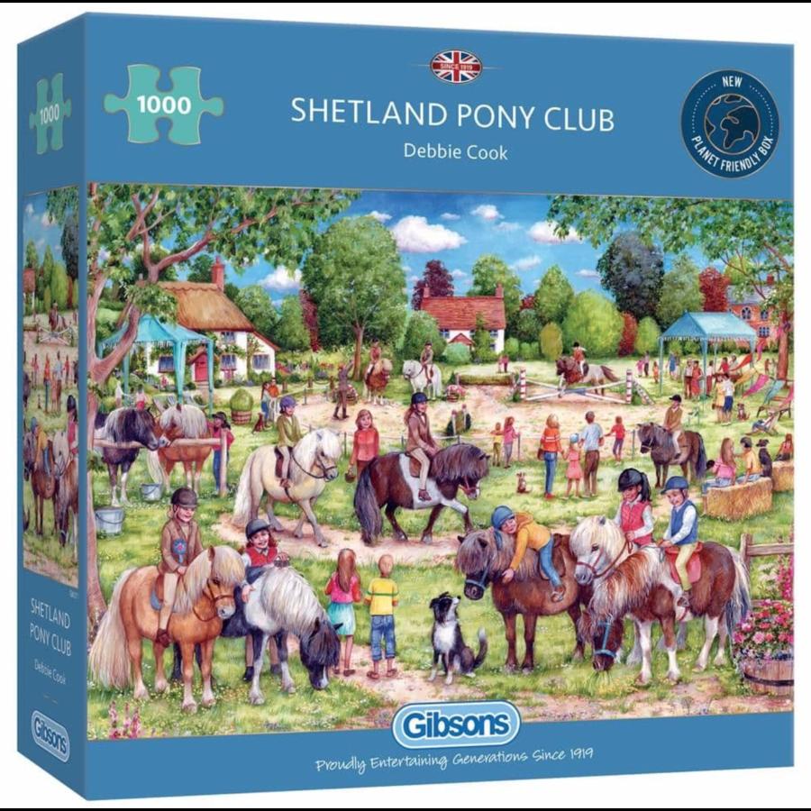 Shetland Pony Club - puzzel van 1000 stukjes-1