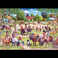 thumb-Shetland Pony Club - puzzel van 1000 stukjes-2