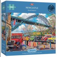 thumb-Newcastle - puzzle de 1000 pièces-1