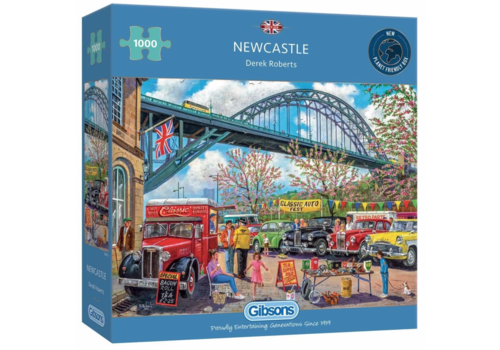 Gibsons Newcastle - 1000 pieces