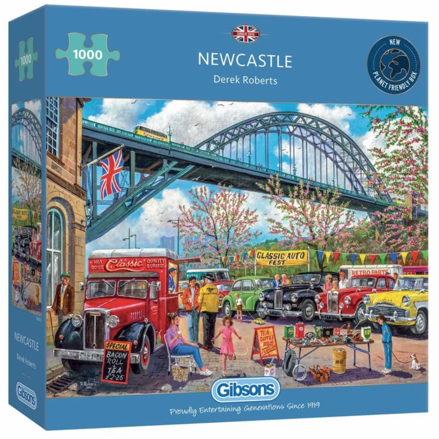 Newcastle - puzzle de 1000 pièces-1