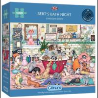 Bert's Bath Night - puzzel van 1000 stukjes