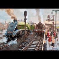 thumb-Treinspotters in Doncasters - puzzel van 1000 stukjes-2