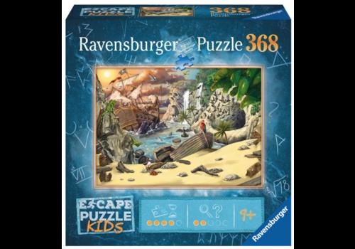 Ravensburger Escape Puzzle: The Pirates - 368 pieces