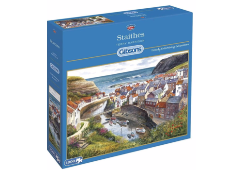 Gibsons Staithes - 1000 pieces